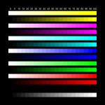 Monitor adjustment chart 1680x1050